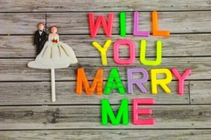 Image-will you marry me